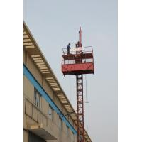 Wholesale Construction Hoist Elevator , Cargo Lifts With 22m/min Rated Lifting Speed from china suppliers