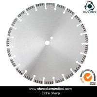 Wholesale 300mm Brazed and Laser Welded Concrete Diamond Saw Blade from china suppliers