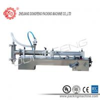 Quality 316L Stainless Steel Liquid Filling Machine SLF Semi - Automatic Single Nozzle for sale