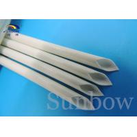 Quality Silicone Rubber Sleeve / Silicone Fiberglass Sleeving Flame Retardant 0.5mm ~ 30.0mm for sale