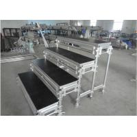 Wholesale Aluminum Movable Portable Staging Systems Strong Loading For Audience Singing from china suppliers