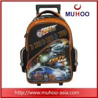 Wholesale outdoor Cartoon Luggage Travel Rolling backpack School Bag for boys from china suppliers