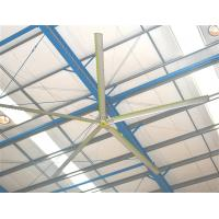 Big volume low speed HVLS fan with German Nord Motor for factory / plant / warehouse / church