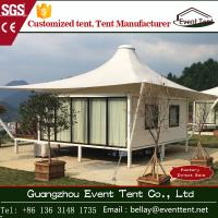Wholesale Tear resistant 850gsm PVC coated polyster Luxury Camping Tent 5 x 5m from china suppliers