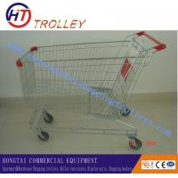 Wholesale Australian Type Durable Steel Grocery Shopping Carts  With Wheels 160 L from china suppliers