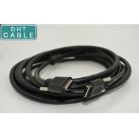 Robust POCL Security Camera Cable 5 Meters With 3m Solder Type Mold PVC Connector