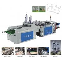 Wholesale Vest / T-Shirt Garbage Bag Making Equipment Computer Control from china suppliers