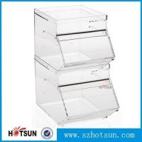 Wholesale acrylic candy storage boxes display rack from china suppliers