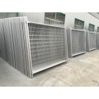 Wholesale Queensland Temporary Fencing For sale OD 32 x 1.40mm standard light duty temp construction fence2.1mtx2.4mts brisbane from china suppliers