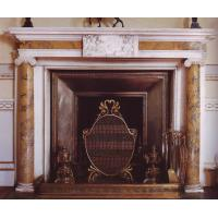 Wholesale Multi-colour stone fireplace mantel from china suppliers