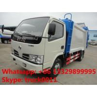 Wholesale factory sale best price Dongfeng duolika 5m3 garbage compactor truck,hot sale 2017s new 5m3 garbage compacted truck from china suppliers