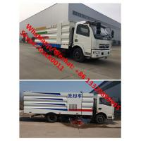 Wholesale 2018s best price Customized dongfeng 4*2 road sweeping and washing vehicle for sale, hot sale street cleaning truck from china suppliers