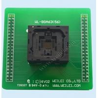 Wholesale wl programmer FBGA63 chip Adapter for wellon programer 0.8mm pitch from china suppliers