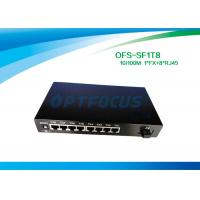 Wholesale Full Duplex Optical Fiber Switch 8 Port 1536 Bytes Frame UTP Cable from china suppliers