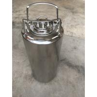 Quality 5 Gallon Ball Lock Soda Keg With Pressure Relief Valve And Lids for sale
