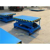 Wholesale OEM Stationary scissor lift , hydraulic scissor lifts 16Mpa GOST Certification from china suppliers