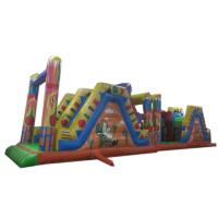 Wholesale Funny Inflatable Obstacle Course , Combo Obstacle Course Games from china suppliers
