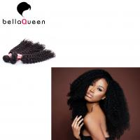 Wholesale Real Tangle Free Mongolian Hair Extensions Natural Curly Human Hair Weave from china suppliers