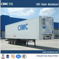 Wholesale the best refrigerated semi trailer , cimc refrigerated semi trailer from china suppliers