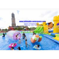 Wholesale Amazing Inflatable Theme Park , Ultimate Inflatable Floating Water Park from china suppliers