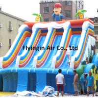 Wholesale Outdoor Fun Sports Equipment Inflatable Water Slide with Blower for Children and Adults from china suppliers