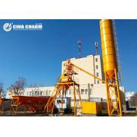 Wholesale Heavy Hzs25 Concrete Batching Plant , Bolted Cement Silo Soil Cement Mixing Plant from china suppliers