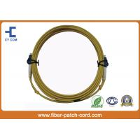 LC Singlemode Fiber Optical Patch Cord Telecom class , Polishing A