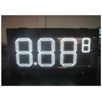 Wholesale HD LED gas station price signs / gas electronics scoreboard With wireless controller from china suppliers