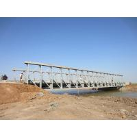 Wholesale Commercial assembly steel temporary pedestrian bridge High Stiffness from china suppliers