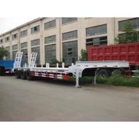 Wholesale Durable 3 Axles Lowbed Semi Trailer LED Lamps For Bulk Cargo Customized from china suppliers