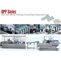 Wholesale DPP Series Small Alu Alu Blister Packing Machine Carton Production Line for Medical Package from china suppliers