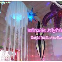 Wholesale Hot Inflatable Jellyfish with Light for Party and Wedding Decoration from china suppliers