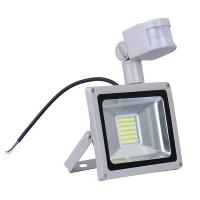 Wholesale CN Ship Sensor Led Flood light outdoor lights 30W 220V 1800LM 60LED SMD5730 Floodlights For street Square Highway Wall from china suppliers