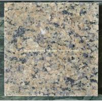 Quality India Gold Diamond Granite Tiles, Natural Yellow Brown Granite Tiles for sale