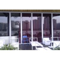 Wholesale Stacking Folding Frameless Glass Partitions Provide A Complete Sound Retardant Barrier from china suppliers