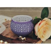 Wholesale Colored Ceramic Pumpkin Candle Holder Anti Impact SGS Certification from china suppliers
