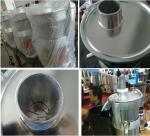 180W Commercial Fruit Juice Extractor / Press Juicer For Orange Fruit