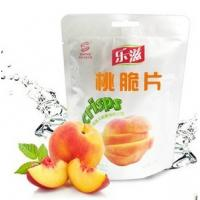 Wholesale natural peach freeze dried fruits chips crisps from china suppliers