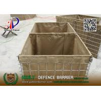 Buy cheap HESLY Defensive Gabion Barrier for Army Security   China Military Defensive Barrier Supplier from wholesalers