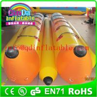 Wholesale New style inflatable banana boat inflatable fly banana boat for sale from china suppliers