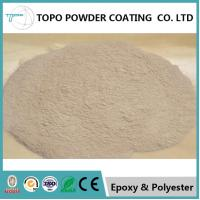 China RAL 1001 No Bake Powder Coat, 94% Glossy Powder Coated Paint For Metal on sale