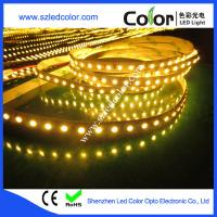 Wholesale golden yellow led strip 3528 dc12 24v from china suppliers