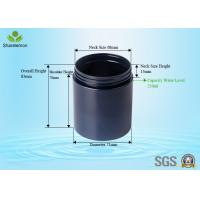 Wholesale Environmental 250ml Empty Cosmetic Plastic Jars With Screw Cap from china suppliers