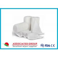 Wholesale Stretch Cotton Gauze Bandage Rolls , X Ray Detectable Bandages from china suppliers