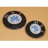 Wholesale Round Custom Metal Signs And Labels , Metal Engraving Plates For Souvenir from china suppliers