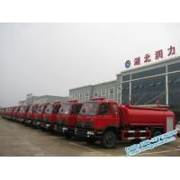 Wholesale Red color single and half cabin Dongfeng 4x2 8000 liters water fire fighting truck low price for sale from china suppliers