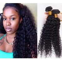 Wholesale Long Lasting 100% Brazilian Curly Human Hair , No Tangle Unprocessed Human Hair Extensions from china suppliers