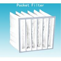 Wholesale Non Dust Room G4 Pocket Air Filter Bag 592mm Width With High Dust Holding from china suppliers