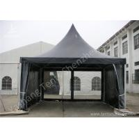 Wholesale White High Peak Tents , Aluminium Pagoda Tent Custom Made Color And Wall Material from china suppliers