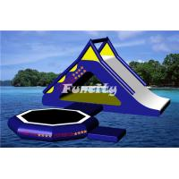 Wholesale 0.9MM Thickness Plato PVC Tarpaulin inflatable slide / Inflatable Water Toys for kids from china suppliers